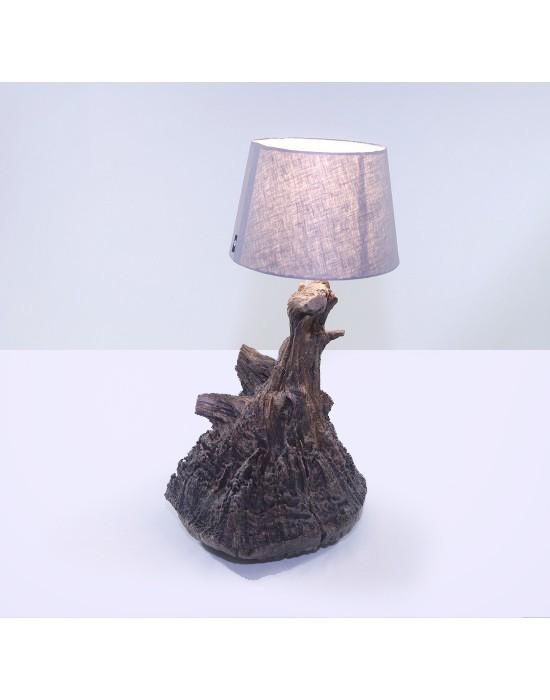 Llum amb arrel de pi