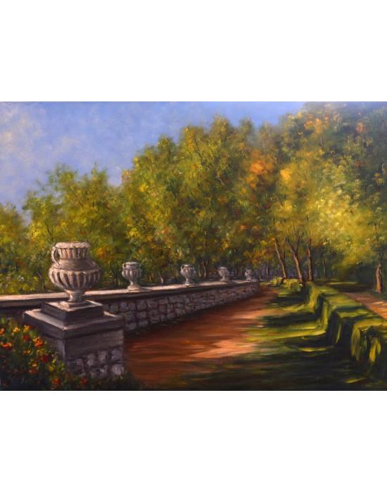 Cuadro Aranjuez - Pintura Paisaje Original