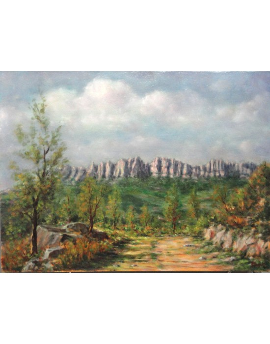 Cuadro Montserrat - Pintura Original