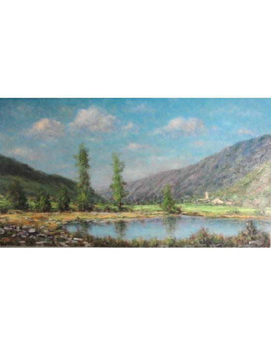 Quadre Llac - Pintura Original