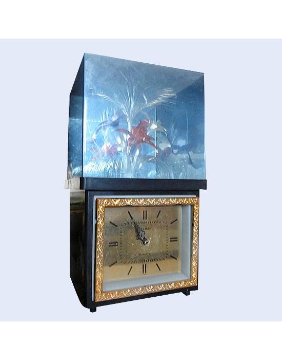 Rellotge sobretaula amb llum principis s.XX