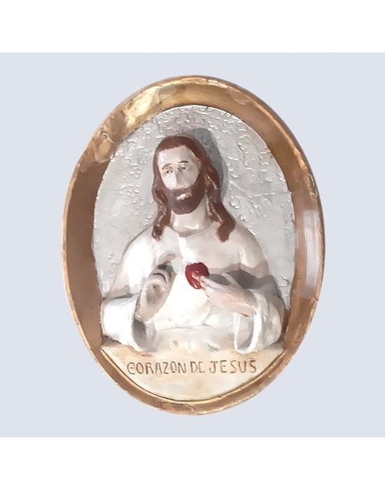 Relieve del Sagrado Corazón de Jesús