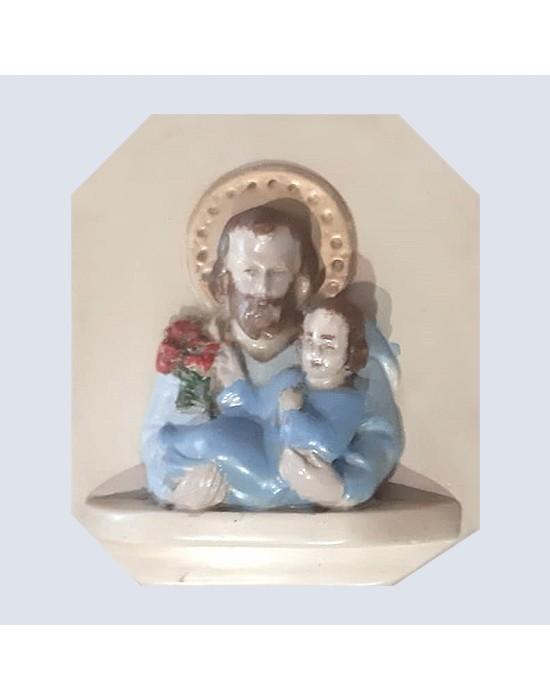 Relieve de San José y el niño Jesús