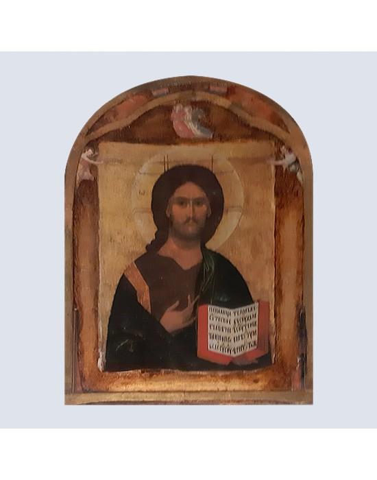 Retablo de apostol con evangelio